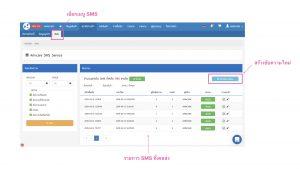 Arincare SMS Service